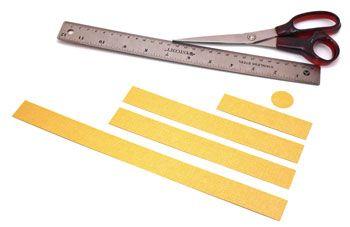 Tiras de papel para artesanato