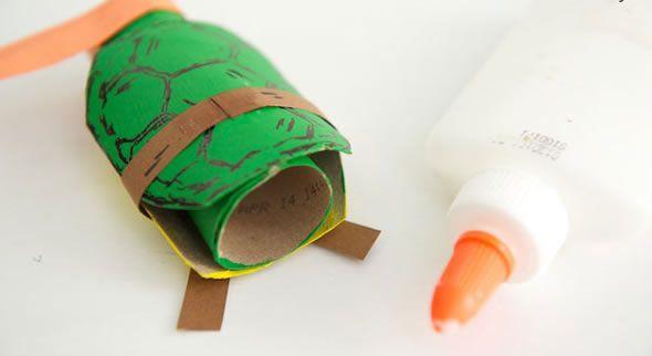 Artesanato para crianças passo a passo
