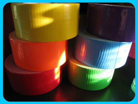 Fitas adesivas coloridas