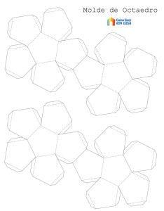 Molde para criação de forma geométrica