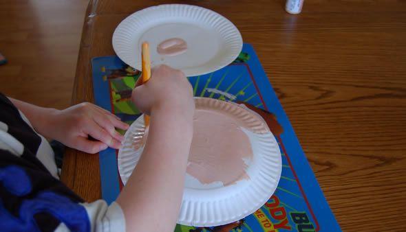Artesanato com pratinho de papelão - PAP