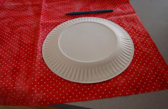 Artesanato com prato de papelão para crianças