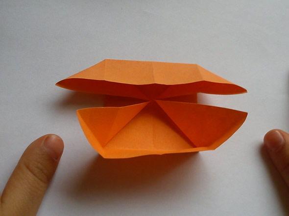 Dobradura com papel fácil de fazer