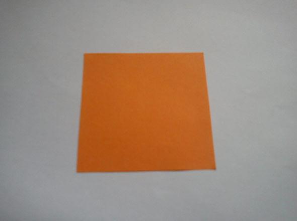 Origami com papel para catavento
