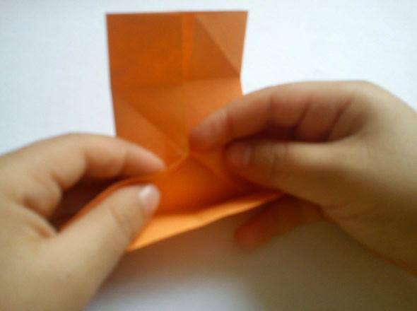 Dobradura de papel para o Dia das Crianças