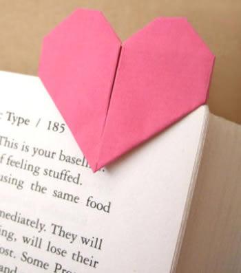Lindo coração de papel passo a passo