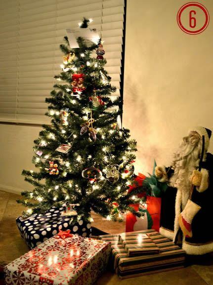 Enfeitar a Árvore de Natal passo a passo