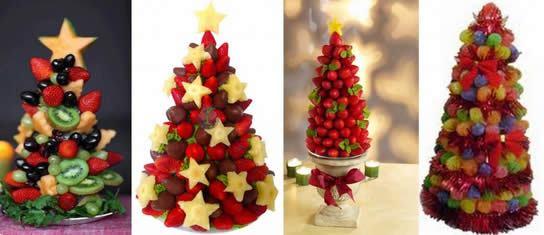 Árvore de Natal comestível passo a passo