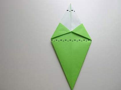 Arvore de Natal de Origami