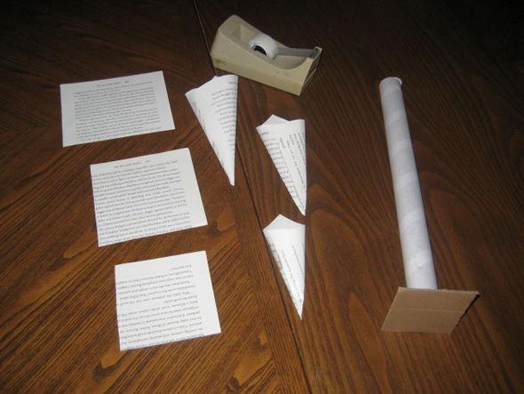 Como fazer um Árvore de Natal com papel