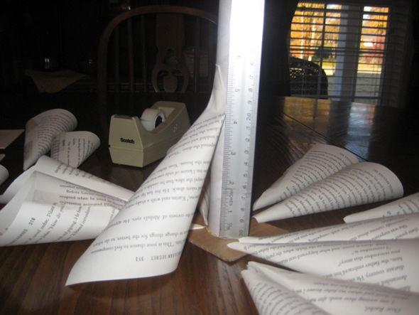 Árvore de Natal de papel passo a passo super fácil