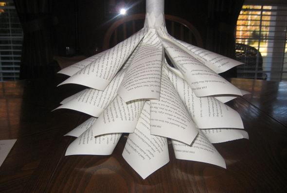 Criando a Árvore de Natal com papel