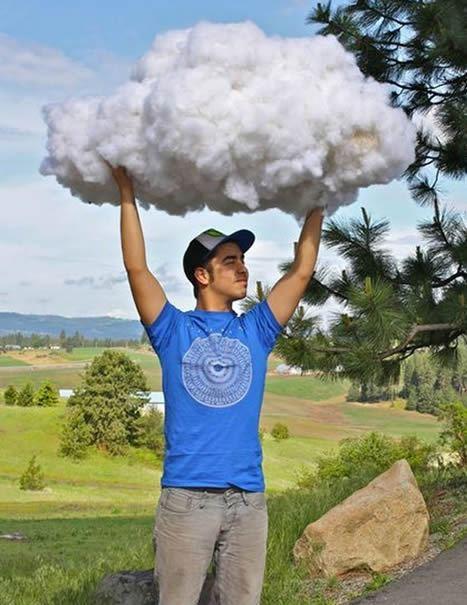 Decoração de nuvem passo a passo