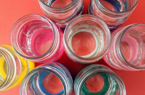 Ideia para decoração de copos de festas