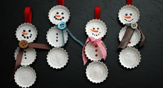 Como fazer artesanato com reciclagem para o Natal