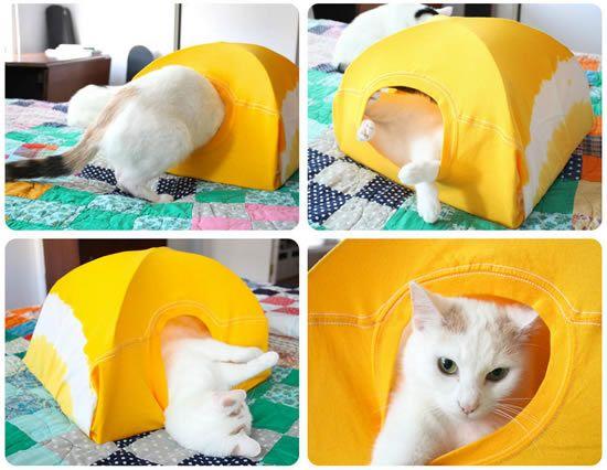 Casinha para gatos passo a passo
