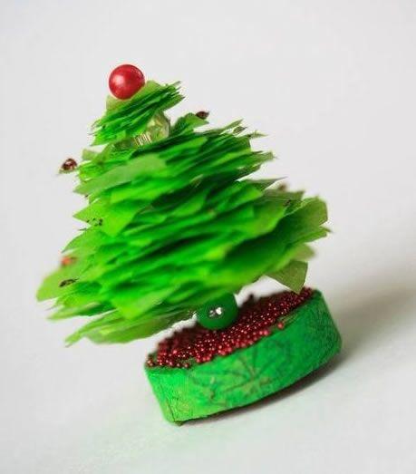 Mini arvore de Natal para decoração da casa