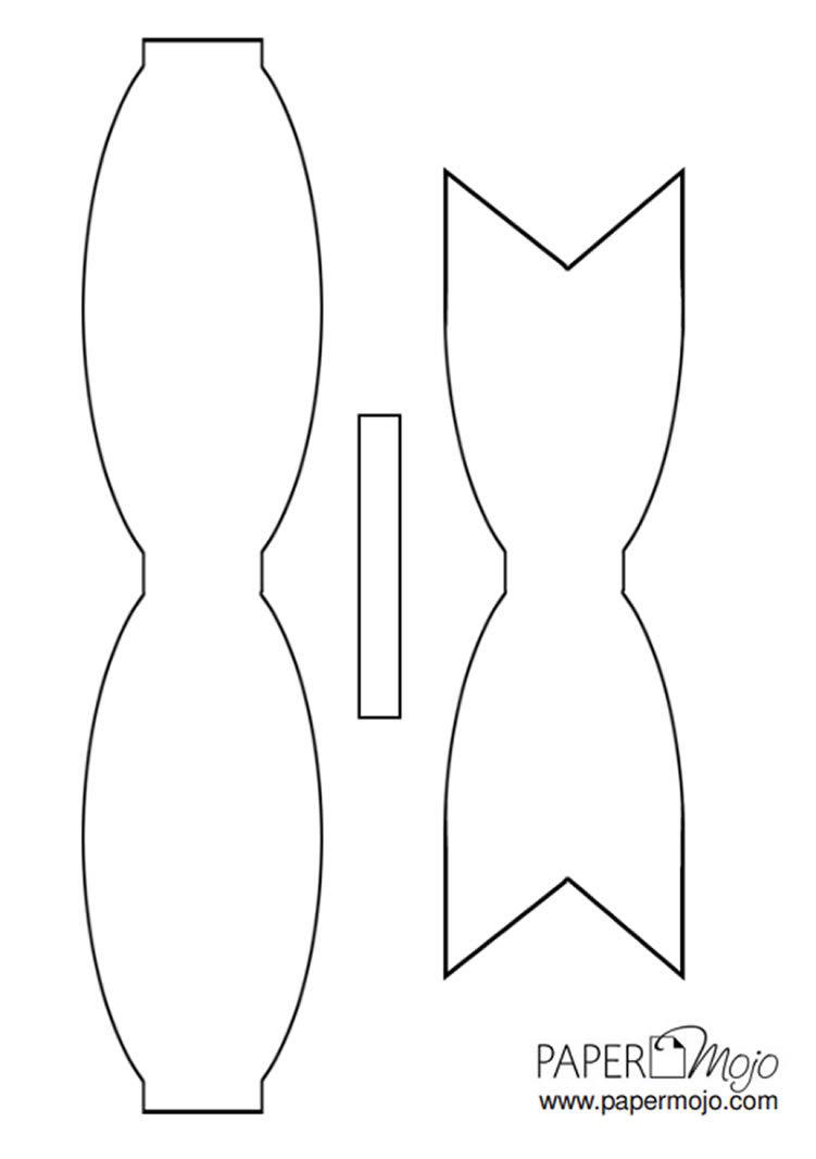 Como fazer laço de papel para presente passo a passo 37cdea458cb