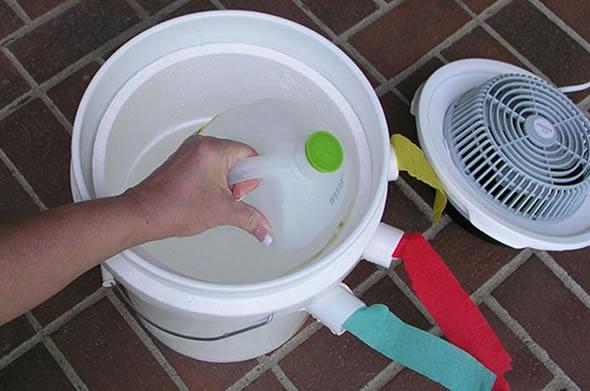 Como fazer ar condicionado caseiro com ventilador velho