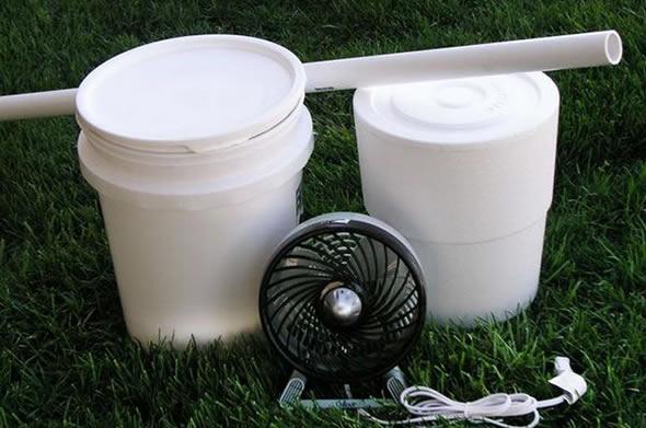 Como Fazer Ar Condicionado Caseiro Com Ventilador