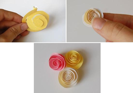 Como fazer flor de papel colorida
