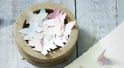 Decoração com flores de papel passo a passo