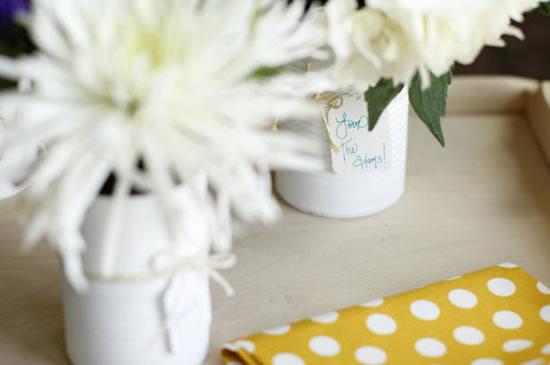 Como decorar latas de leite passo a passo