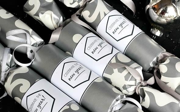 Lembrancinhas para festas com rolos de papelão