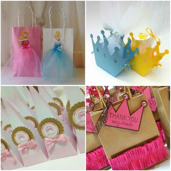 Lembrancinhas para Festa de Princesas Disney