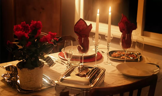 Jantar para o Dia dos Namorados