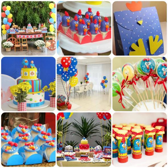 ideias de decoracao tema jardim : ideias de decoracao tema jardim:50 ideias de decoração de festa Galinha Pintadinha