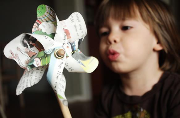 Artesanato para o Dia das Crianças