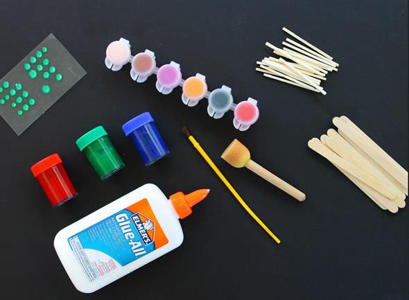 Atividade com reciclagem para o Dia das Crianças