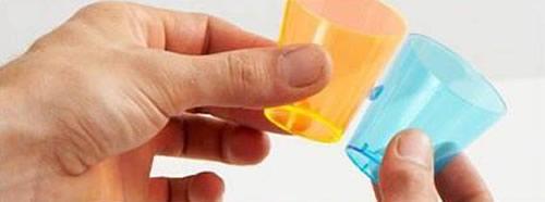 Artesanato com copos descartáveis passo a passo