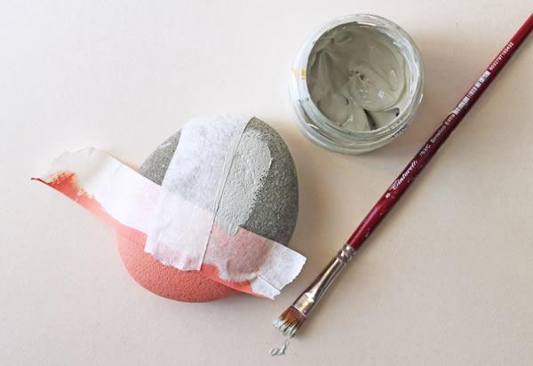 Como fazer arte em seixos
