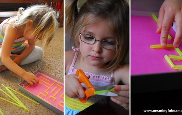 Brinquedo com caixa de sapato para crianças passo a passo