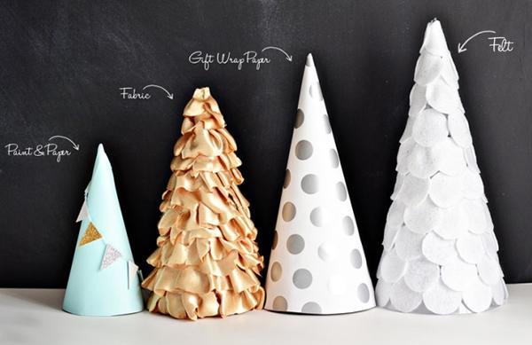 Árvore de Natal decorativa passo a passo