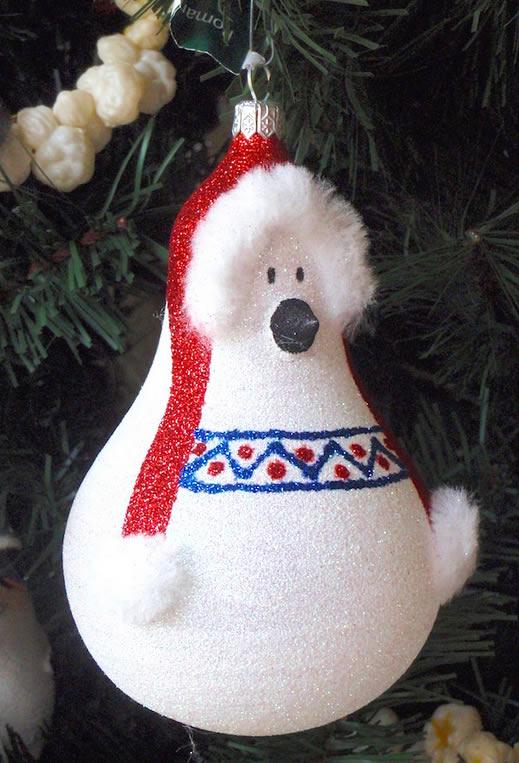 decoracao em lampadas:Até o urso polar vai entrar na brincadeira! Olha que legal ficou esse