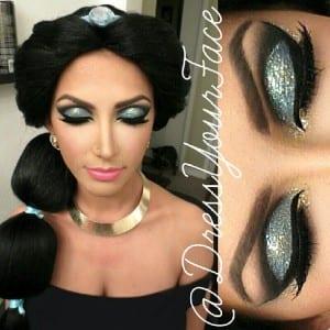 maquiagem jasmine