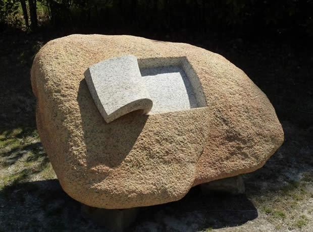 Esculturas em pedra