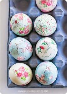 como fazer decoupage de páscoa em ovos passo a passo artesanato de páscoa 05