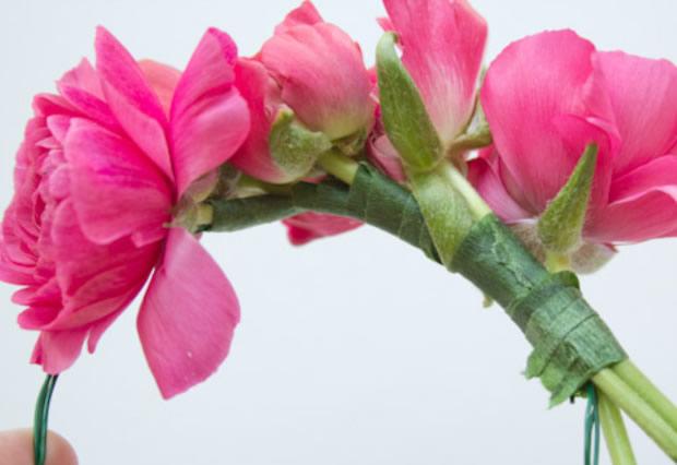 Bracelete floral passo a passo