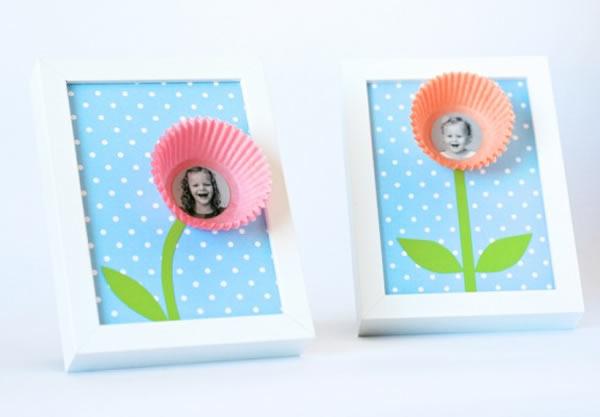 Cartão infantil para o Dia das Mães