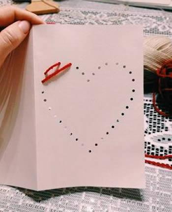 Cartão fácil de fazer para o Dia das Mães