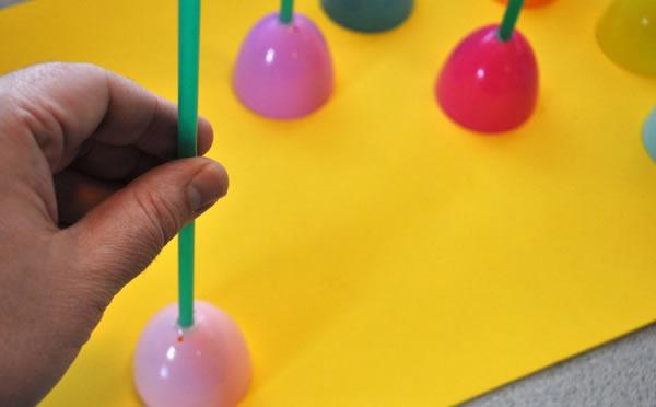 Artesanato com canudos para fazer com as crianças