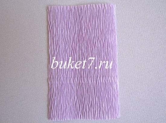 Lembrancinha com papel crepom