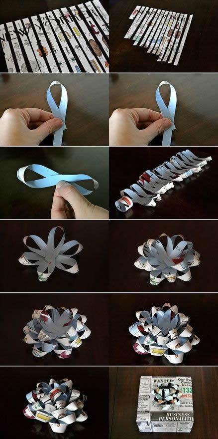 Ideias criativas para fazer laços para presente