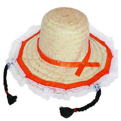 15 ideias para decorar Chapéu de Palha para Festa Junina  65afddf7484