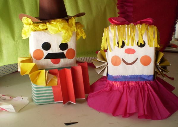 Para decorar a Festa Junina, que tal pintar garrafas PET, cortá-las ...