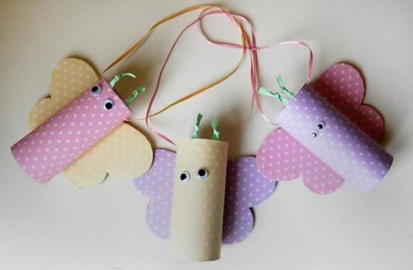 Brinquedo com reciclagem para o Dia das Crianças
